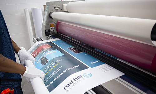 Mounting and laminating Toronto